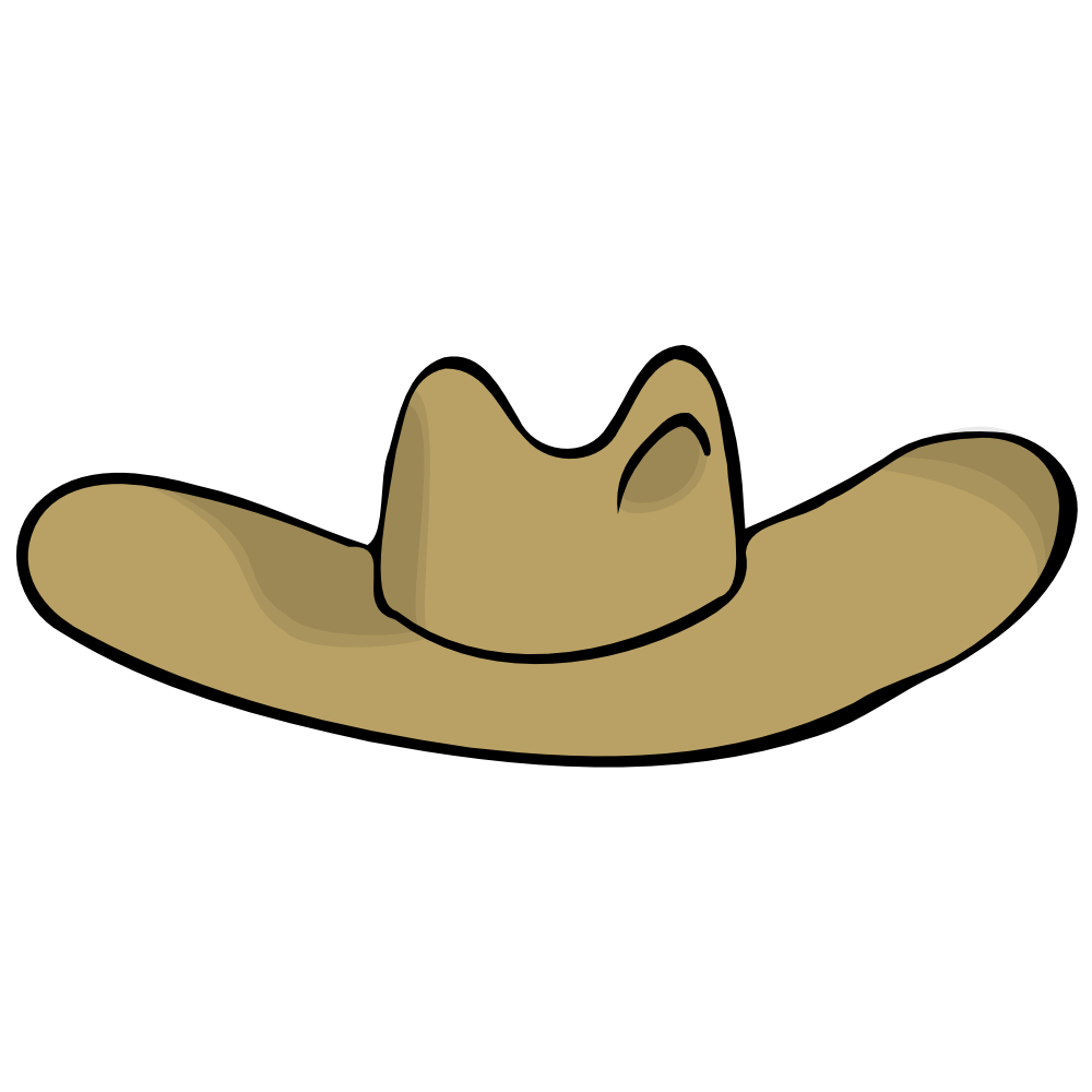 png royalty free stock Cowboy Hat Clipart pixel art