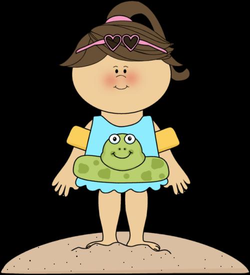 image transparent Summer clip art images. Kids swimsuit clipart