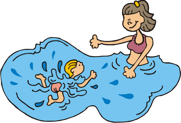 clip freeuse  collection of swimming. Kids swim clipart