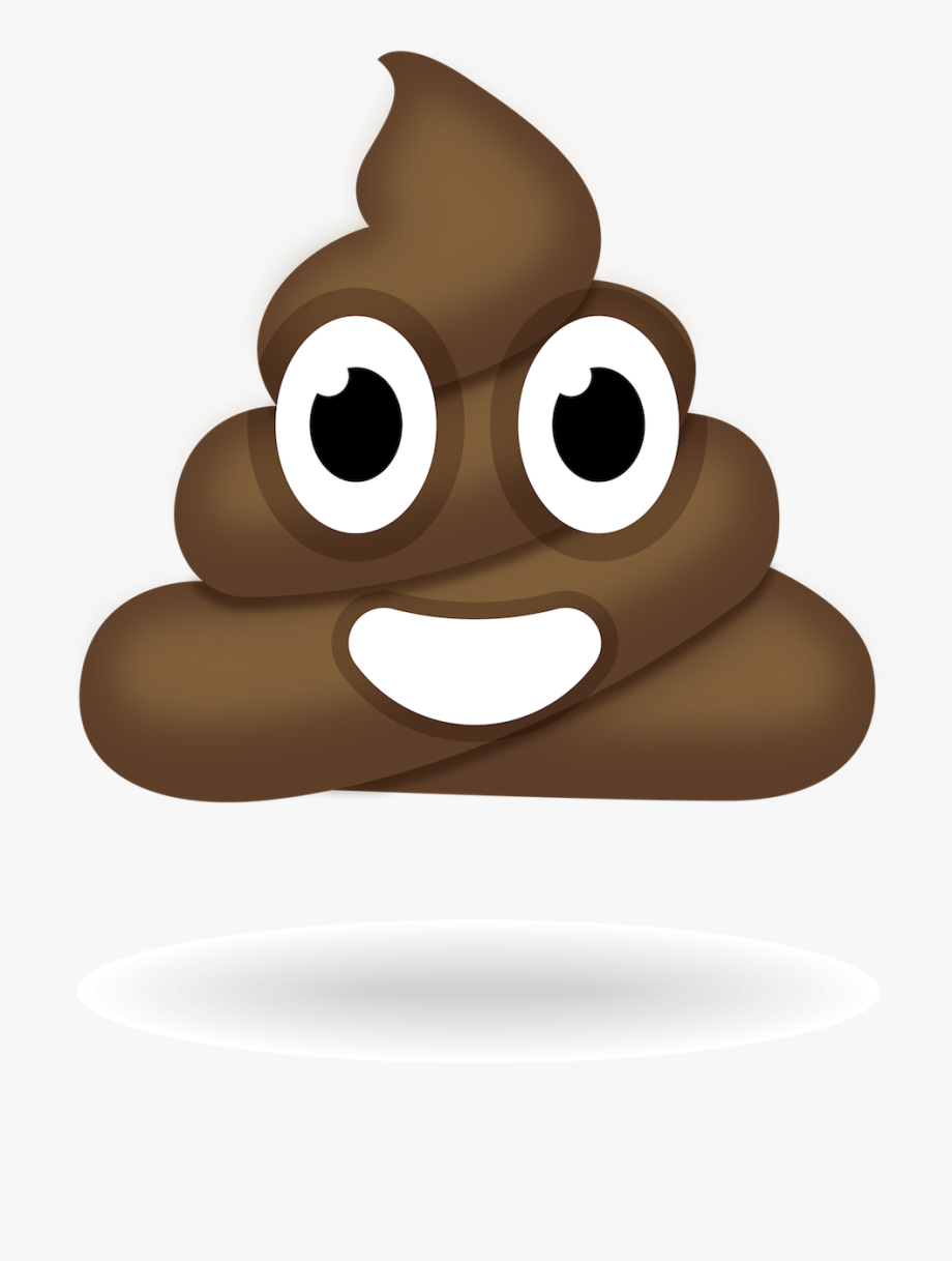 jpg freeuse library Poop clipart. An awesome rainbow emoji.