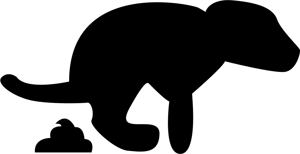 picture library stock Dog Pooping Silhouette at GetDrawings