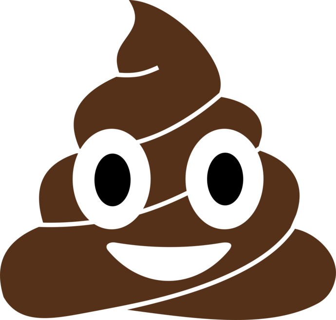 picture black and white download Poop vector. Emoji design png free