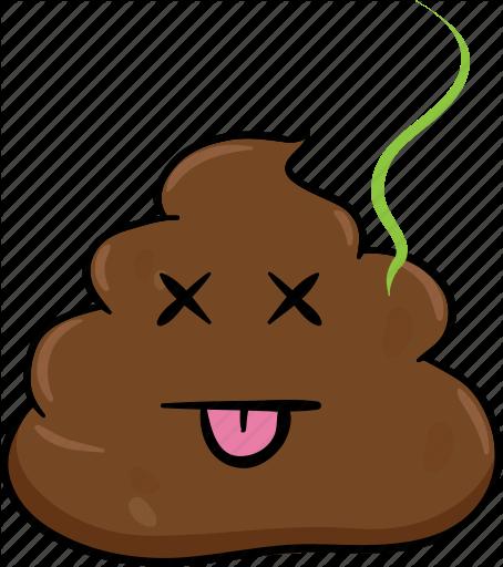 image free Poop vector. Emoji cartoons by toons