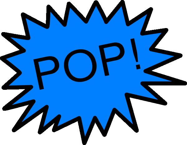 jpg royalty free library Balloon clip art at. Pop clipart.