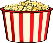clipart royalty free stock Popcorn clipart. Free images kernel.
