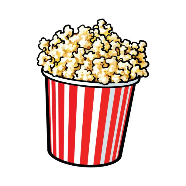 svg free download Free station . Popcorn clipart.