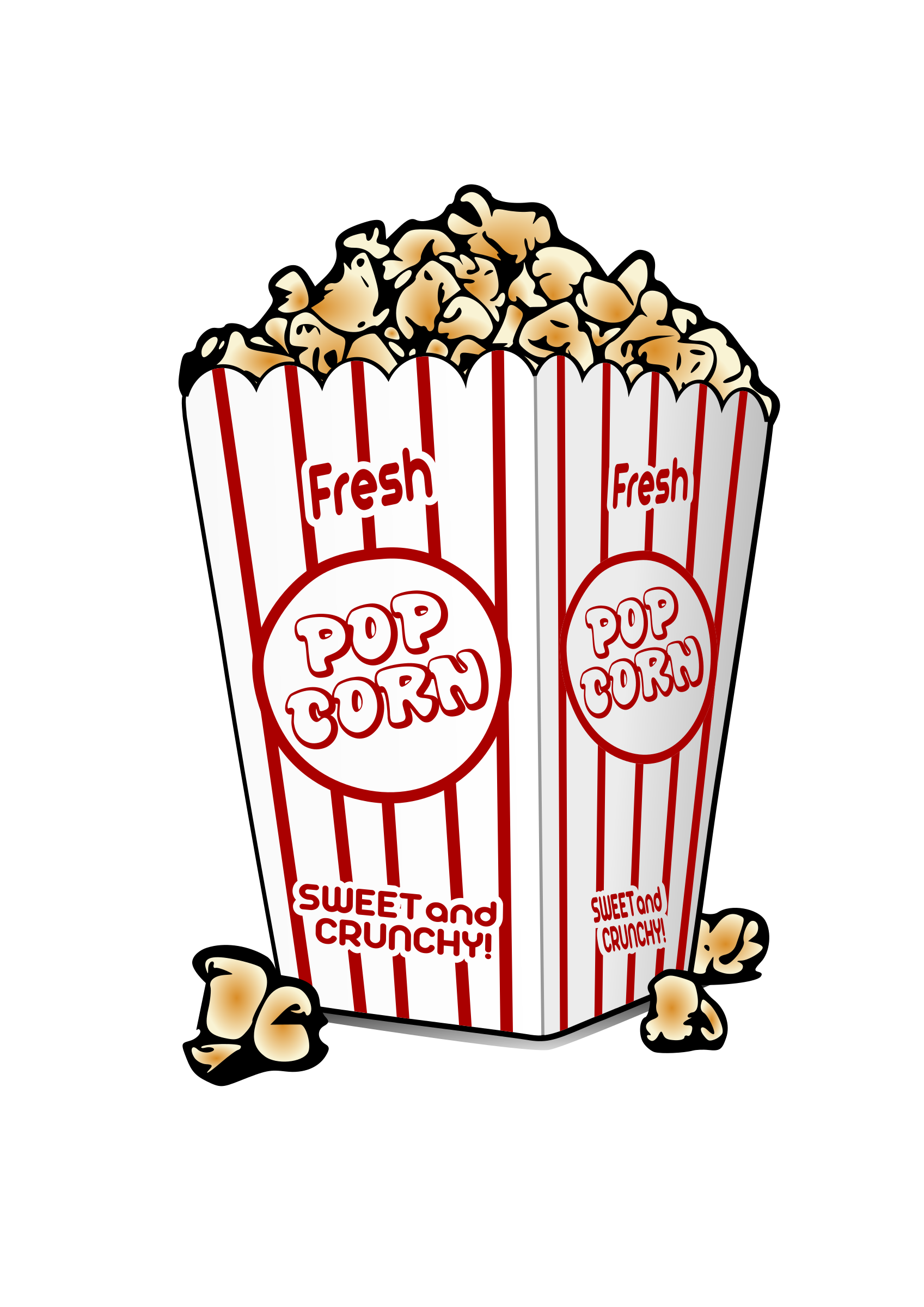 png freeuse Big image png. Popcorn clipart.