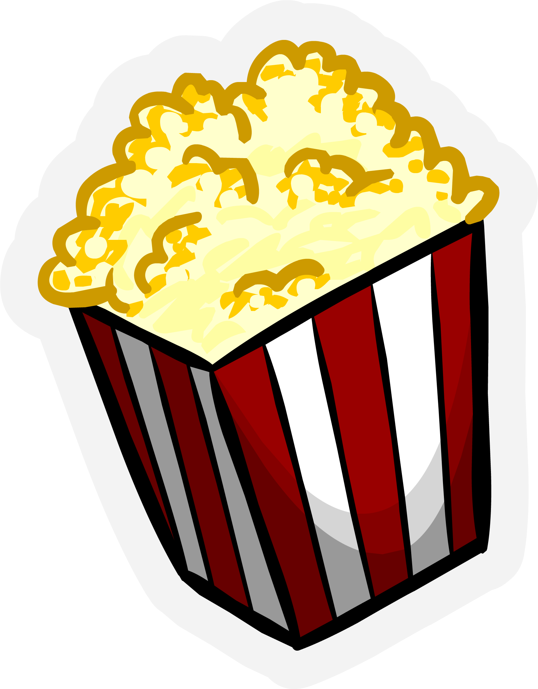 graphic royalty free Individual free on dumielauxepices. Popcorn clipart.