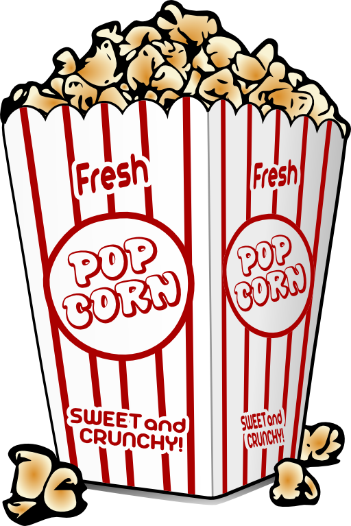 svg transparent library Panda free images info. Popcorn clipart.