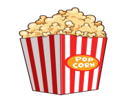 clip freeuse stock Popcorn clipart. Free images to use.