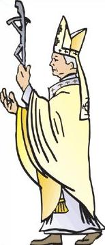 clip art library Free clip art library. Pope clipart.