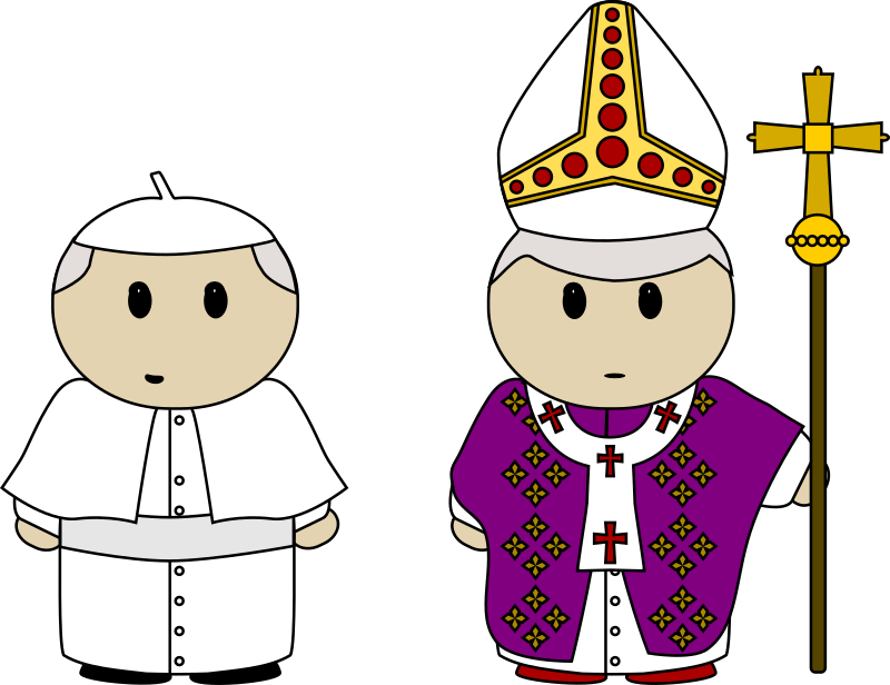 vector library library Clothes medium image png. Pope clipart.