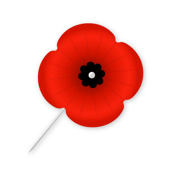 picture freeuse library Free remembrance cliparts download. Poppy clipart small