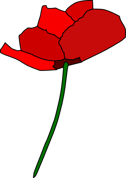 vector library download Flower clip art at. Poppy clipart small