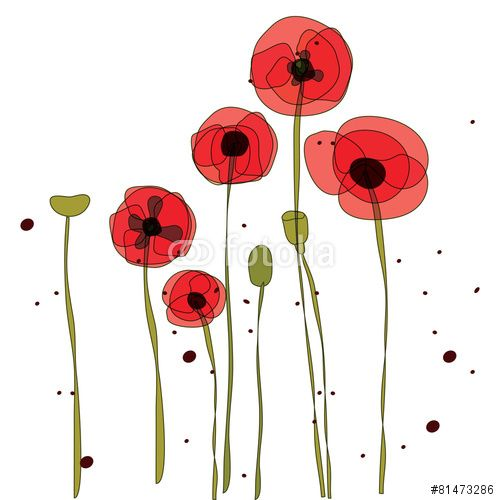 freeuse library Poppy vector. Free google search poppies
