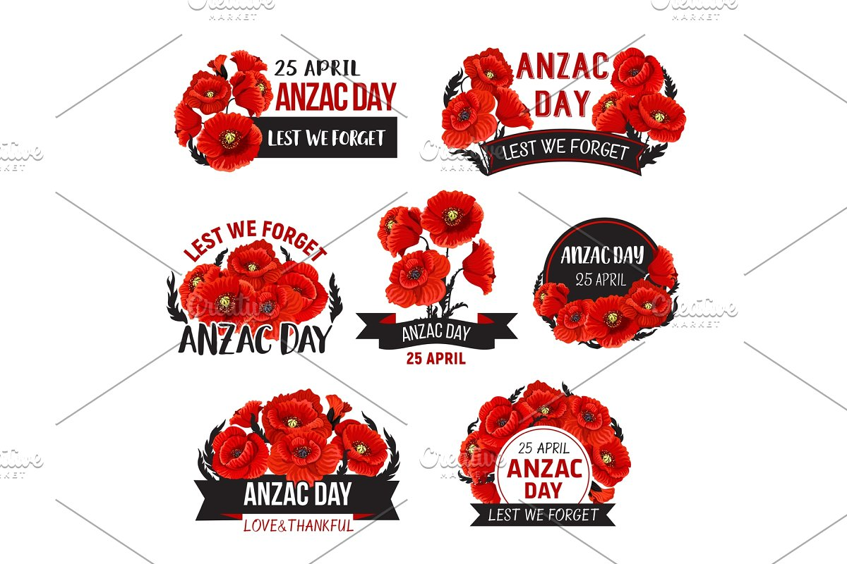 clip download Anzac day lest we. Poppy vector