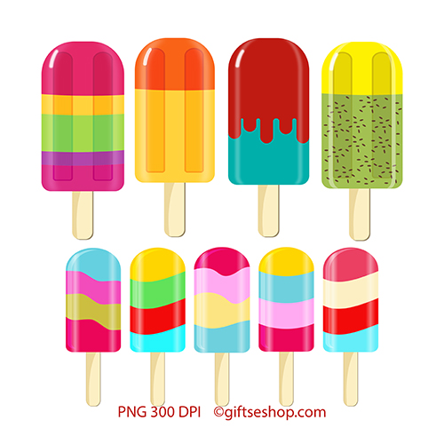 image freeuse download Popsicle clipart. Summer sweet .