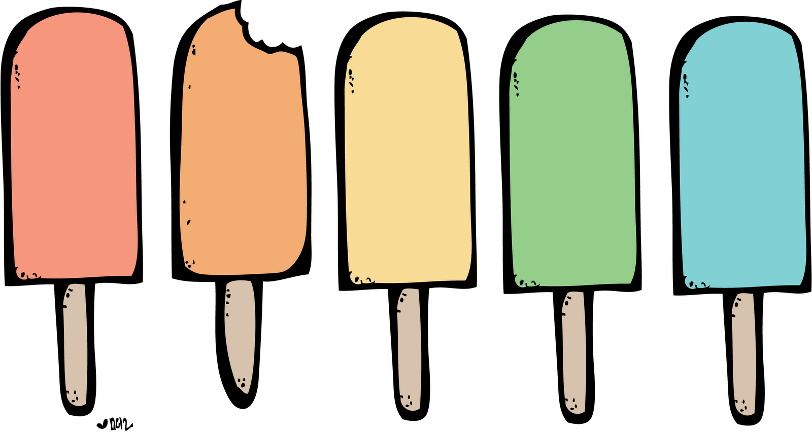 picture Ice cream popsicle clipart. Image high five board