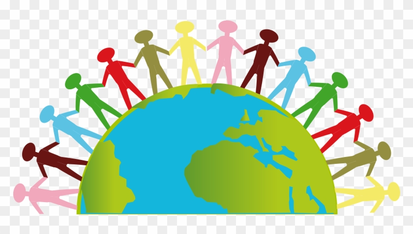 picture freeuse library Population clipart top world. Save earth png day