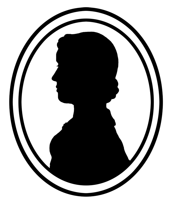 image library download Silhouette Portrait Frame at GetDrawings
