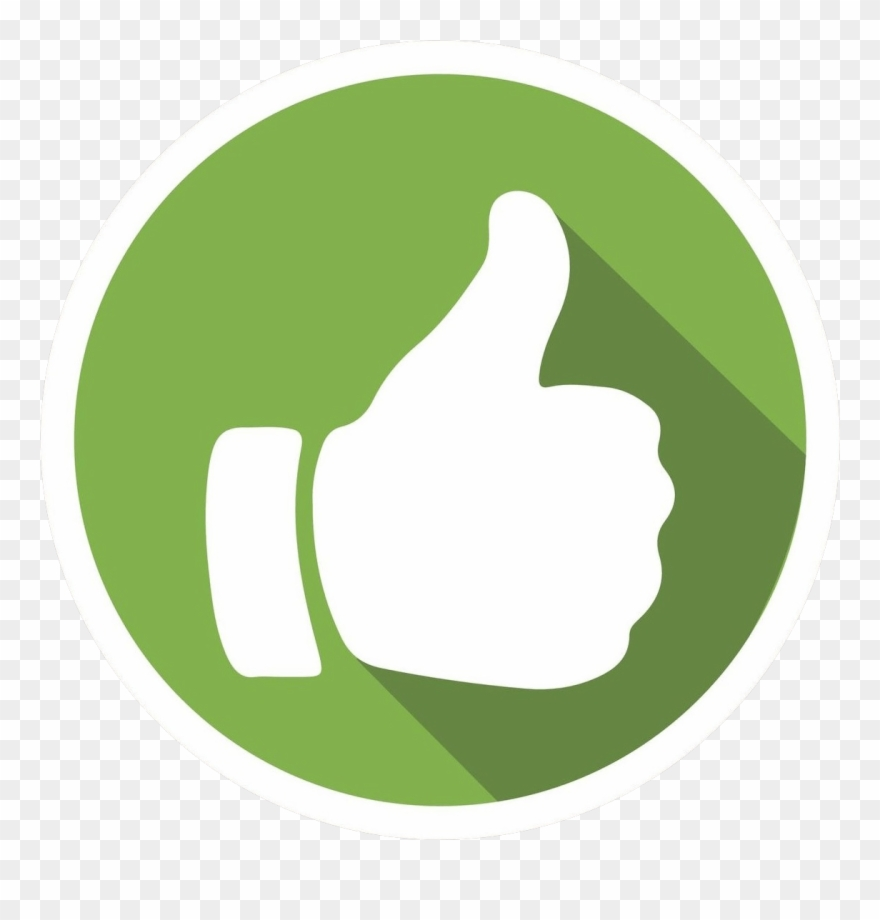 clip art royalty free download Png thumb up green. Positive clipart