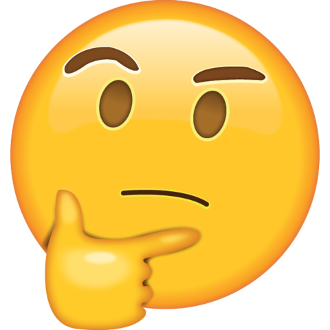 picture free library Thinking emoji icon png. Vector emojis high re