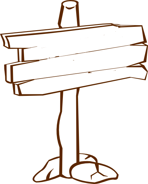 picture transparent Wood sign blank clip. Post clipart.