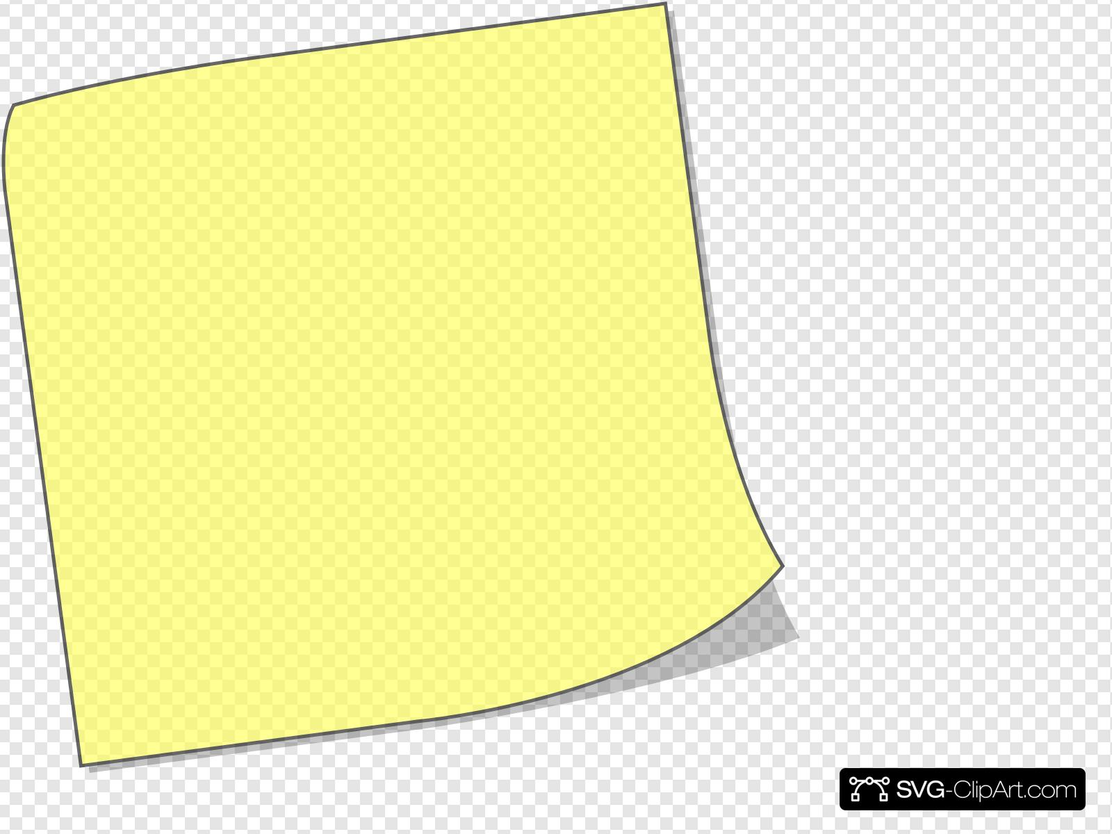 free library It note clip art. Post clipart svg