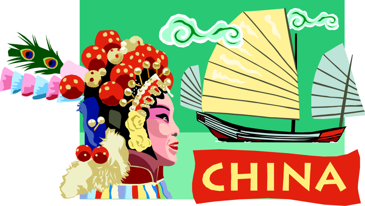 svg freeuse China Postcard Design
