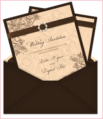 clip download Wedding Invitations Postcard Style