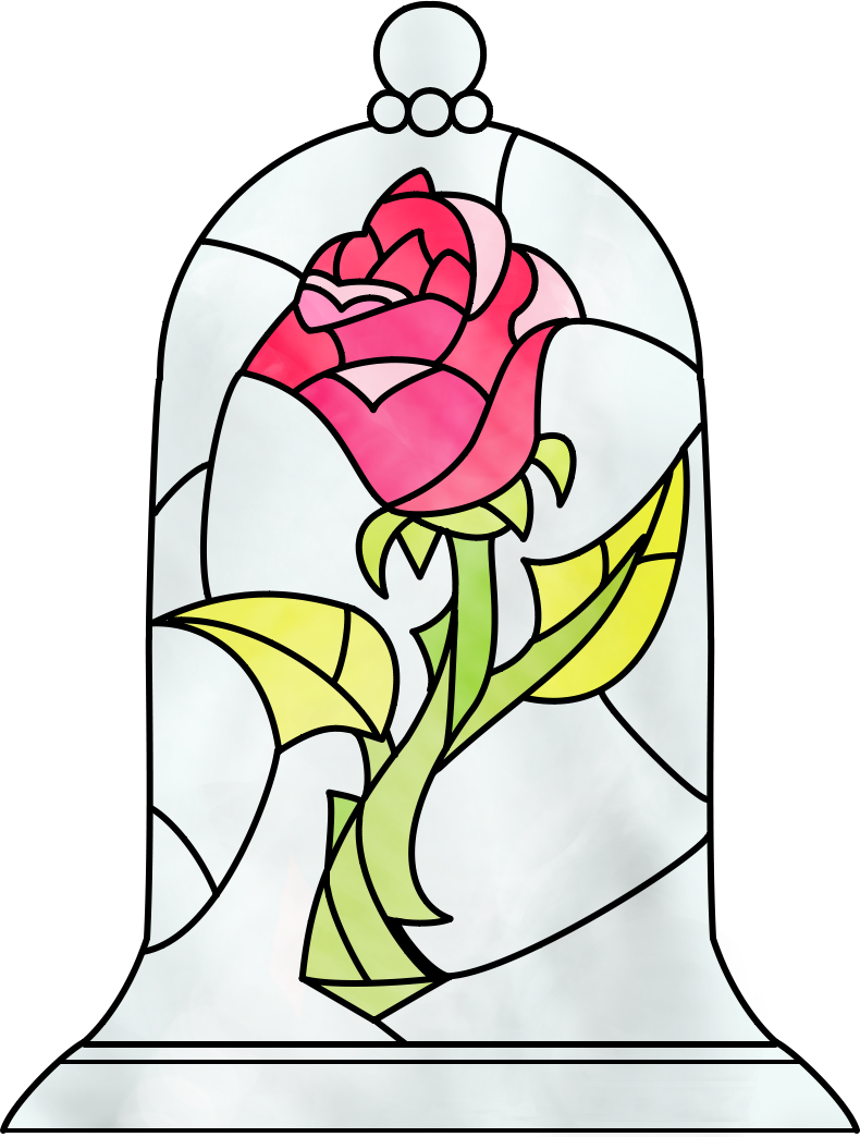 clip art transparent Belle transparent rose. Deviantart more like beauty