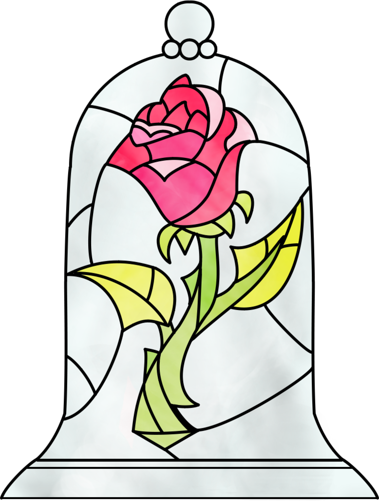 svg library stock Belle svg beauty and the beast. Rose by dosiguales on