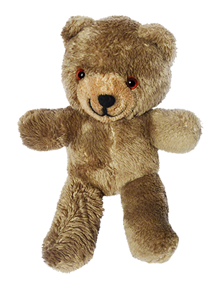 transparent stock Teddy bear clipart images. Cute old vintage brown