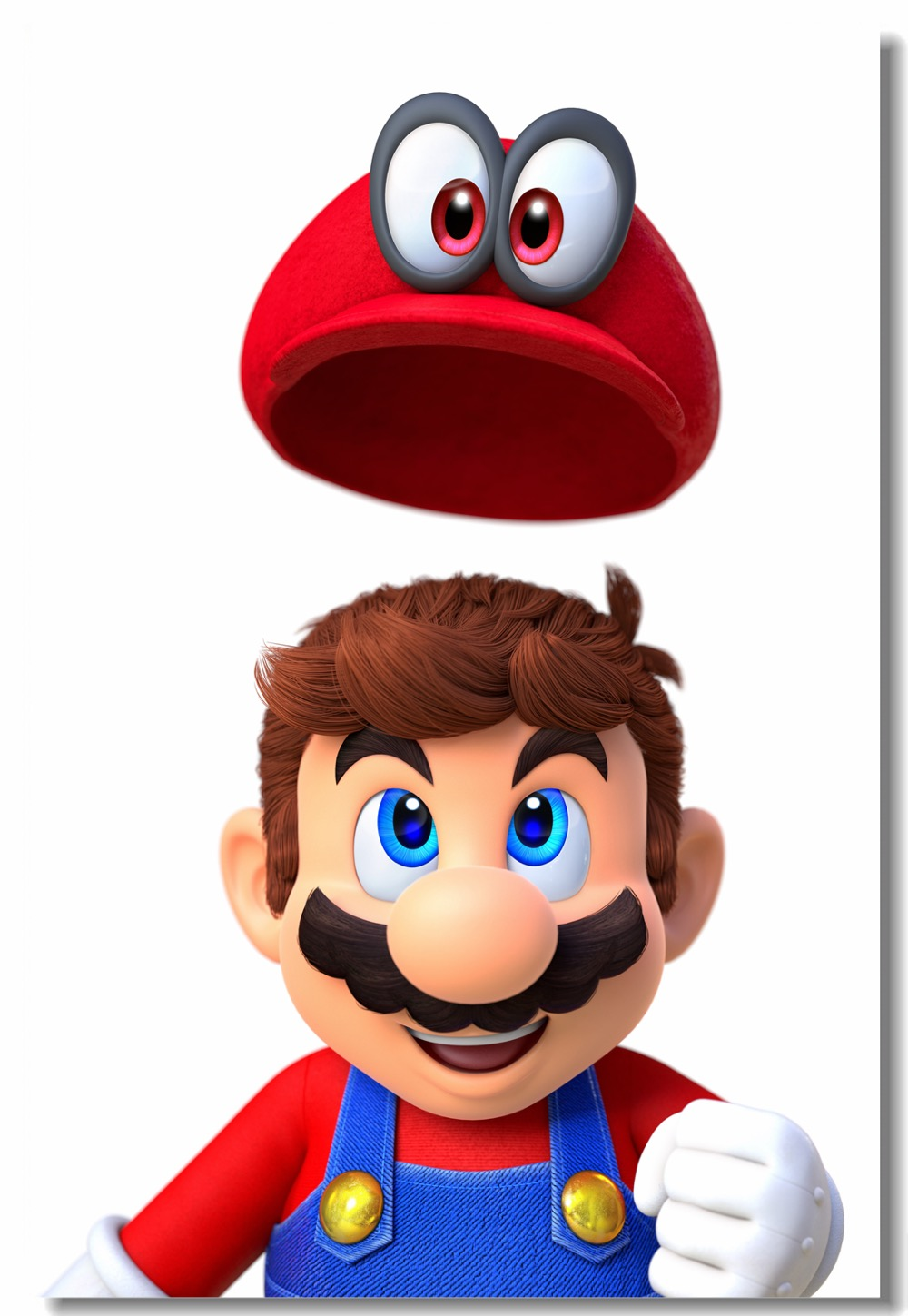 vector transparent library Poster clipart super mario odyssey. Us off custom canvas