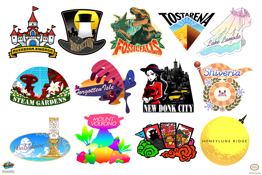 clipart black and white library Details about logos video. Poster clipart super mario odyssey