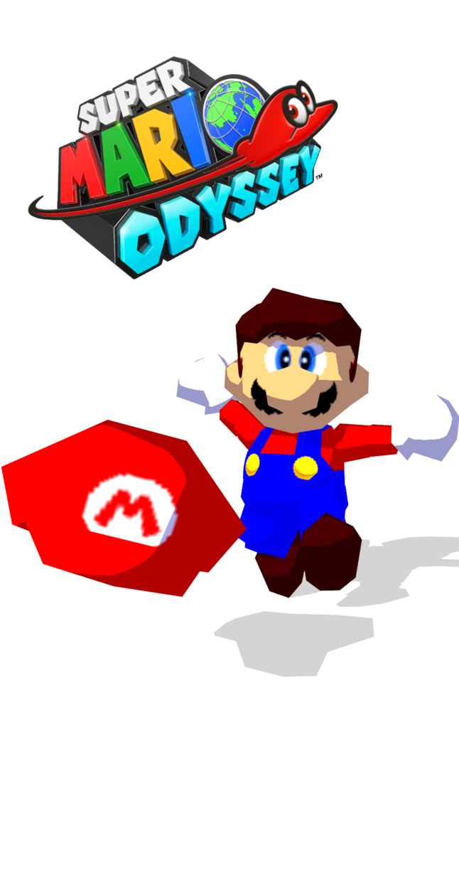 picture black and white Poster clipart super mario odyssey. Mmd by eduard on