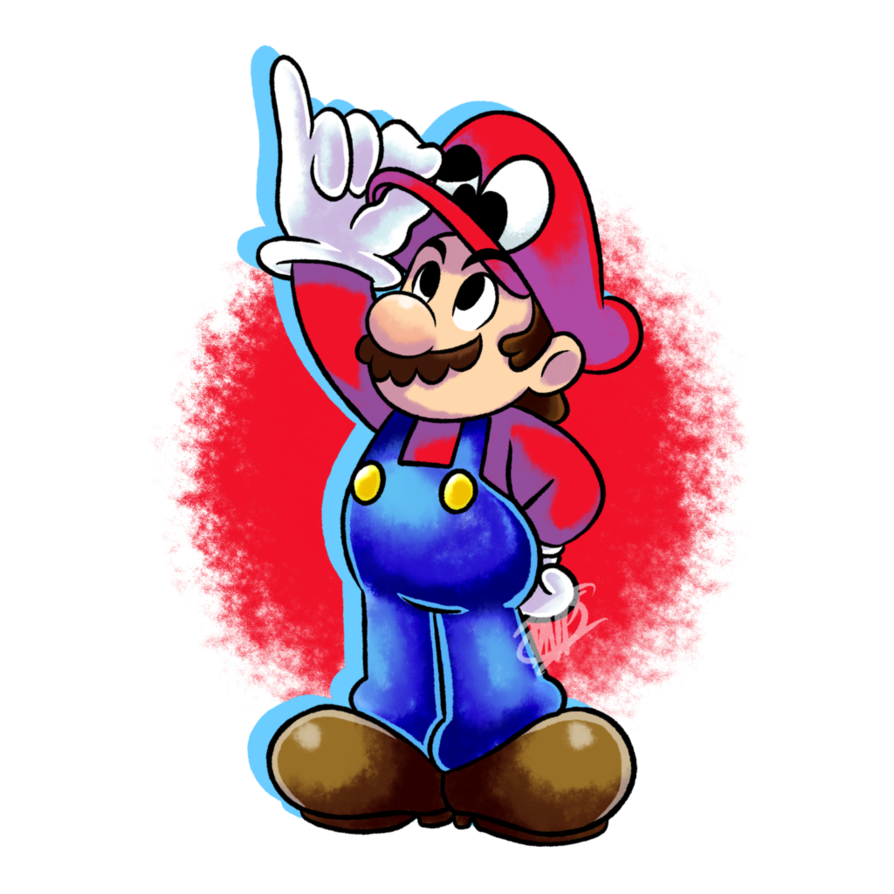 png transparent download Fanart vr by dnpinotti. Poster clipart super mario odyssey
