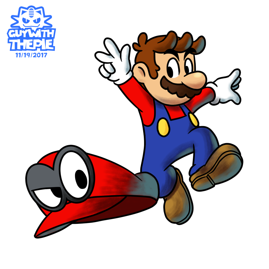 graphic Poster clipart super mario odyssey. To celebrate the release