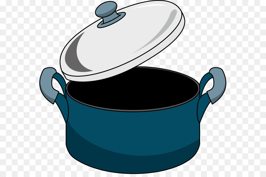 svg royalty free library Stock blue . Pot clipart.