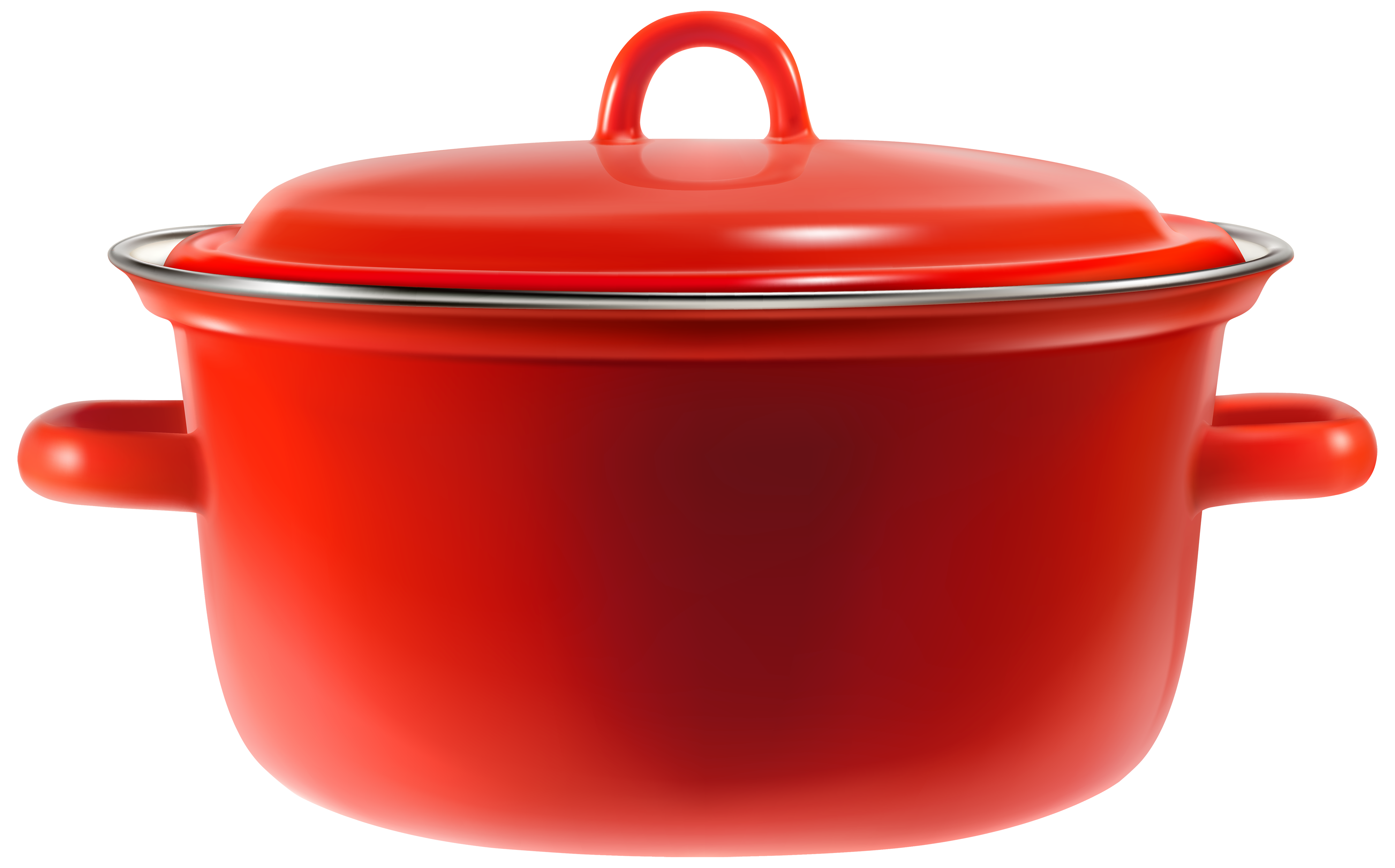 clip art transparent stock Red cooking best web. Pot clipart.
