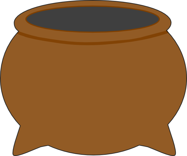 png library stock Brown clip art at. Pot clipart.