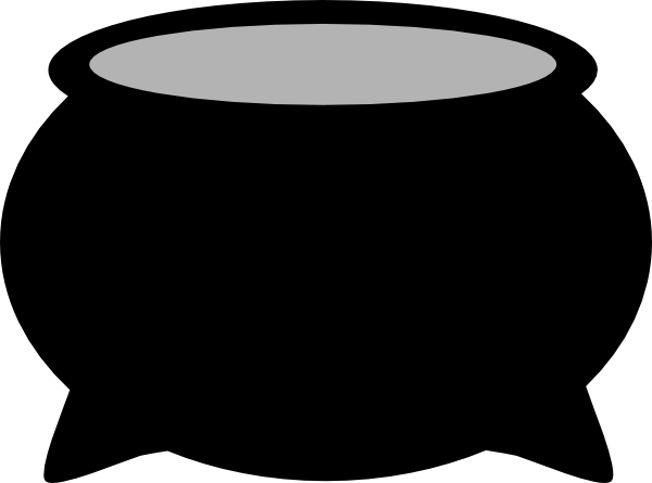 svg freeuse Large Cooking Pot Clip Art at Clker