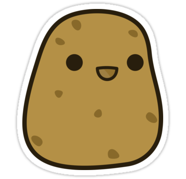 jpg black and white library Potato clipart. Png transparent free images