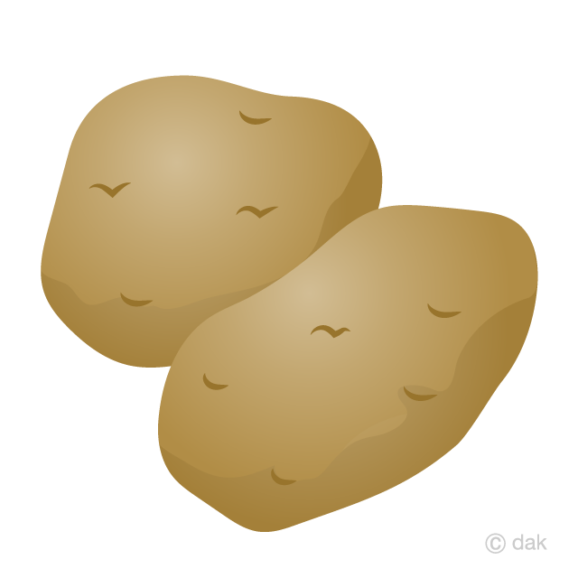 image free download Free picture illustoon . Potato clipart