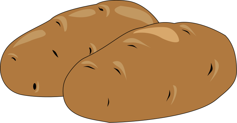 banner royalty free library Potato clipart. Free cliparts download clip