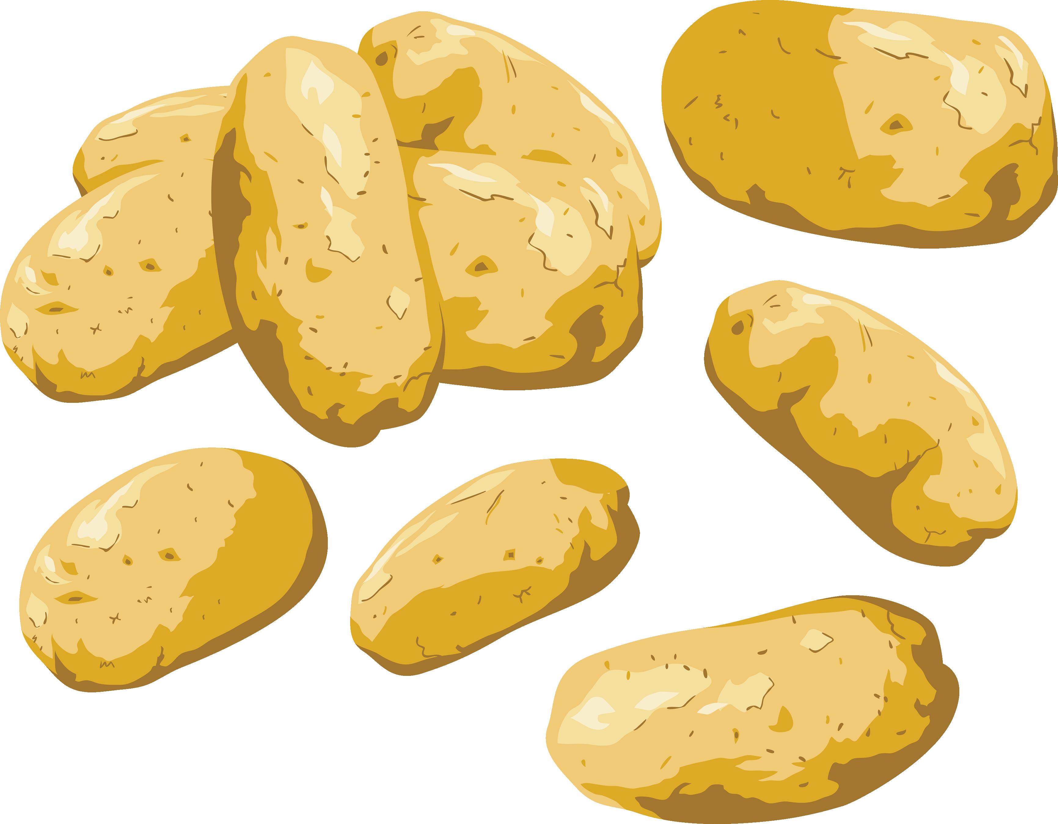 vector transparent stock Potato clip art free. Potatoes clipart.