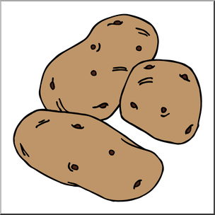 clipart transparent download Free download best on. Potatoes clipart.