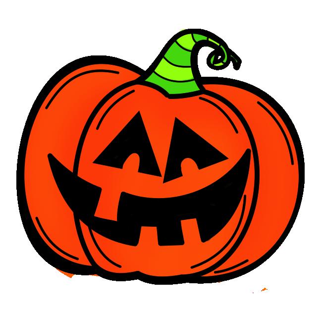 clip transparent library Halloween Clipart potluck