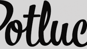 picture download All about. Potluck clipart black and white