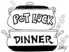jpg royalty free download Potluck clipart black and white. Free cliparts download clip